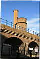 TQ3681 : Hydraulic accumulator tower, Limehouse by Chris Allen