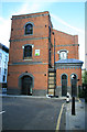 TQ3480 : Hydraulic pumping station (former), Hooper Street by Chris Allen