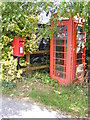 TM2869 : Bell Corner Telephone &amp; Postbox by Adrian Cable
