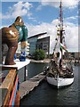 ST1974 : Tall ship Ruth at Cardiff Harbour Festival by Gareth James