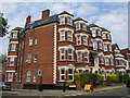 TQ2385 : Argyle Mansions, Chichele Road / Rockhall Road, NW2 (2) by Mike Quinn