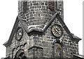 SJ8763 : St John's Church, Buglawton- Southern and Eastern clockfaces by Jonathan Kington