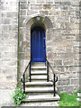 SJ8763 : St John's Church, Buglawton- Tower door by Jonathan Kington
