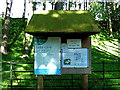 NT2263 : Information board, Glencorse, Pentlands by Anthony O'Neil