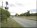 SP2279 : Speed check sign, A452 near Marsh Lane  by Robin Stott
