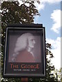 TQ4066 : The George Pub Sign, Hayes by David Anstiss
