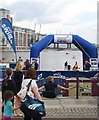 TQ4080 : British Gas Swim starting area by N Chadwick