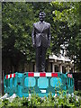 TQ2880 : Ronald Reagan statue, Grosvenor Square W1 by R Sones
