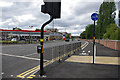 SP0483 : Pedestrian crossing and cycle path - Selly Oak New Road Phase 2 (Aston Webb Boulevard) by Phil Champion