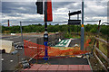 SP0482 : An unused shared use path - Harborne Lane roundabout by Phil Champion