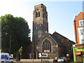 TQ3477 : Christ Church, Old Kent Road by Stephen Craven