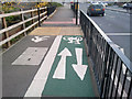 SP0482 : Shared use cycle path on Harborne Lane by Phil Champion