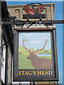 TQ2506 : Stags Head sign by Oast House Archive