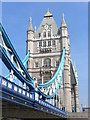 TQ3380 : Tower Bridge, South Tower by Colin Smith
