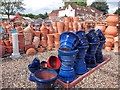 TQ4870 : Pots at Ruxley Manor Garden Centre by Oast House Archive