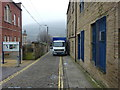 SE0925 : Pavement parking on Blackledge, Halifax by Phil Champion