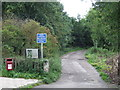 NZ3150 : Public bridleway at Fencehouses by Malc McDonald