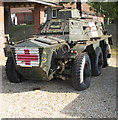 SU8954 : Saracen armoured ambulance, Army Medical Services Museum by David Hawgood