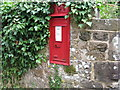 SU8423 : Wall mounted Edward VII postbox on boundary wall of cottage in Chithurst by Dave Spicer