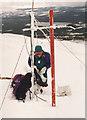NJ0106 : Snow monitoring study, Coire Laogh Mor 1994 by Jim Barton