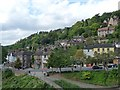 SJ6703 : Ironbridge taken from The Iron Bridge by Robin Drayton