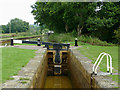 SJ8255 : Lock No 45 near Church Lawton, Cheshire by Roger  Kidd