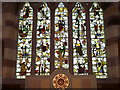 NU2322 : East window, Church of the Holy Trinity by Miss Steel