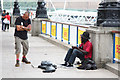 TQ3080 : South Bank scene by Richard Croft