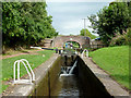SJ8935 : Meaford House Lock No 32, Staffordshire by Roger  Kidd