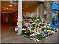 SU4829 : Winchester - Flower Stall by Chris Talbot
