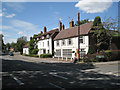 SP2482 : Business premises next to the Bull's Head  by Robin Stott