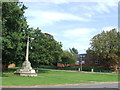 TL4602 : War Memorial, Epping by Malc McDonald