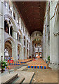 SU3521 : Romsey Abbey - the nave by Mike Searle
