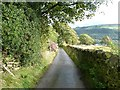 SE0126 : Driveway to Wadsworth Banks Farm, Mytholmroyd by Humphrey Bolton