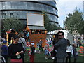 TQ3380 : Disco shed outside City Hall by PAUL FARMER