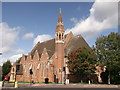 TQ4275 : St. Barnabas Church, Eltham by David Anstiss