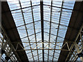TQ3179 : Roof, Waterloo Station, London SE1 by Christine Matthews