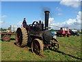 SU3435 : Longstock - Traction Engine by Chris Talbot