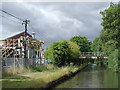 SJ9108 : Canal and chemical works at Four Ashes, Staffordshire by Roger  Kidd
