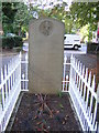 TQ3369 : All Saints Church, Upper Norwood: grave of Admiral Robert Fitzroy by Christopher Hilton