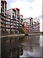 TQ3979 : Renaissance Walk, North Greenwich (2) by David Anstiss