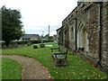 SP9832 : Church End- St. John the Baptist, Eversholt: graveyard (c) by Basher Eyre