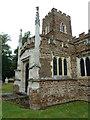 SP9832 : Church End- St. John the Baptist, Eversholt: south transept by Basher Eyre