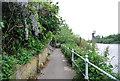TQ1675 : The Thames Path, riverside by N Chadwick