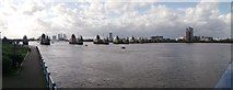 TQ4179 : Thames Barrier Panorama by David Anstiss