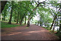 SP0386 : Footpath along the banks of Edgbaston Reservoir by N Chadwick