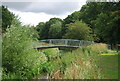 TQ5586 : Footbridge over the Ingrebourne by Nigel Chadwick