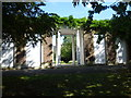 TQ3275 : The Portico, Ruskin Park by Ian Yarham