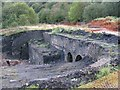 SN7608 : Excavated Iron Works at Ystalyfera by Nigel Davies