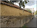 SK8608 : Cob wall ,Oakham by Michael Trolove